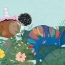 Cory Reid We're Off to Find A Unicorn Spread artwork