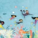 Cory Reid We're Off to Find A Mermaid Spread artwork
