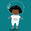Cory Reid astronaut artwork
