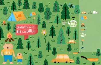 Ana Seixas activity book illustration for Start Little, Learn Big represented by Kids Corner